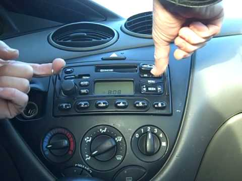 Remove your Ford Radio Easily With Our Help. radiocodes.co.uk